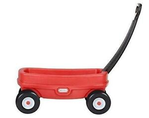 NEW Little Tikes Lil' Wagon, Red. Ideal size for kids to pull along toys.