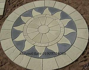 AZTEC-SUN-CIRCLE-3-46m-garden-patio-paving-slabs-4