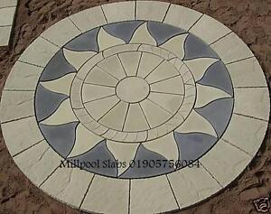 AZTEC-SUN-CIRCLE-3-46m-garden-patio-paving-slabs-4