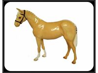 Vintage Royal Doulton Authentic Bridled Palomino Show Pony With Plaited Mane And Tail £40 ONO