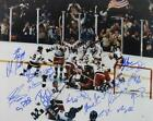 1980 USA Hockey Signed