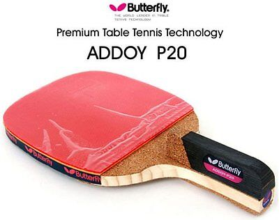 New Butterfly Addoy-P20 Table Tennis , Ping Pong Racket Pen hold Paddle