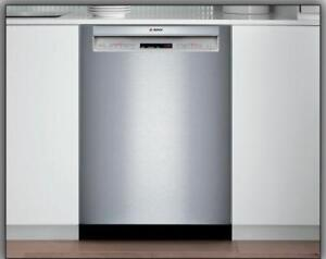 "Bosch SHE65T55UC 500 Series 24"" Recessed Handle Dishwasher"