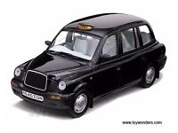 Glasgow Taxi Business For Sale Black Hackney Licence/Plate & TX1 Cab