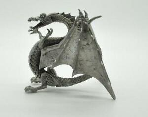 Pewter figurines ebay - Pewter dragon statues ...