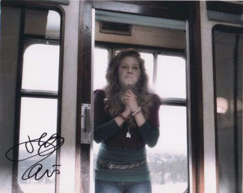 Jessie Cave Harry Potter Autographed Signed 8x10 Photo COA #J1