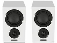 MISSION LX 1 WHITE BOOKSHELF SPEAKERS