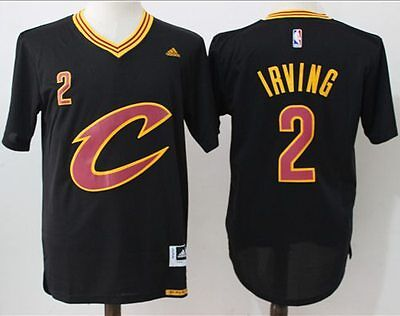 Kyrie Irving  2 Cleveland Cavaliers Swingman Black Gold Home Away Jersey New
