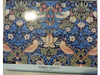 Pimpernel Morris & Co Strawberry Thief Blue Placements Table Mats Set of 6