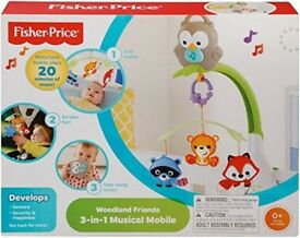 Fisher price 3in1 cot mobile