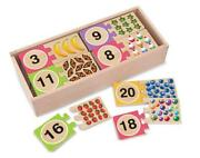 Wooden Number Jigsaw
