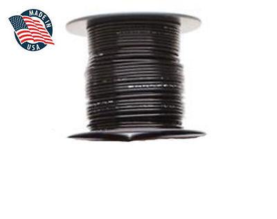 100ft Milspec High Temperature Wire Cable 18 Gauge Black Tefzel M2275916-18-0