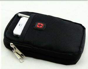 Multipurpose Capacity 2 Layers Waterproof Cellphone Nylon Pouch Kitchener / Waterloo Kitchener Area image 4