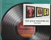 Vinyl Record Frame