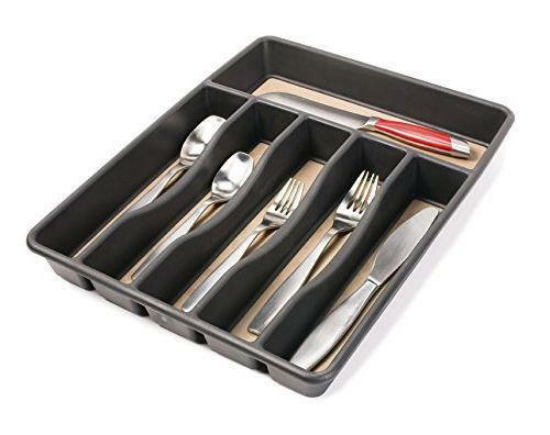 Kitchen drawer organizer ebay for Kitchen drawer organizer