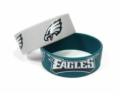 Philadelphia Eagles Wide Bracelets