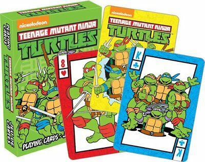 Teenage Mutant Ninja Turtles-spiel (Teenage Mutant Ninja Turtles Spielkarten Nickelodeon Tmnt Deck Ovp Neu)