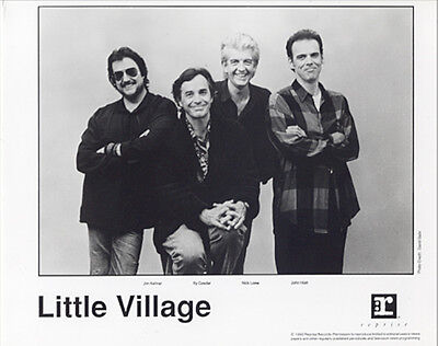 LITTLE VILLAGE 1992 PRESS KIT +PHOTO