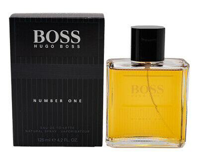 Boss #1 One by Hugo Boss 4.2 oz EDT Cologne for Men New In Box