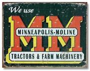 Minneapolis Moline Sign