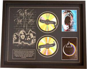 New Pink Floyd CD Memorabilia Framed