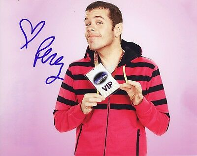 Perez Hilton Authentic Hand Signed  Superfan  8X10 Photo