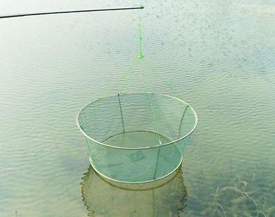 Drop Landing Fishing Net Crab Shrimp Net Pier Harbour Pond Prawn with Bait bag