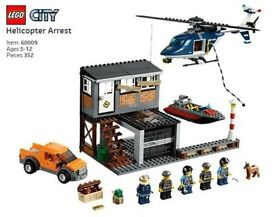 Lego City 60009 Helicopter Arrest, Retired Product, Brand New Boxed Sealed