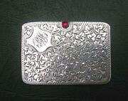 Silver Stamp Case