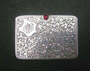 Silver Stamp Case