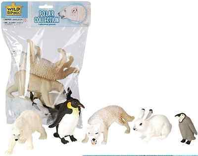 Wild Republic Large Polybag - Polar Animal Play Set toy Figurines 81593