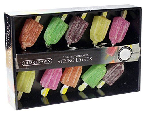10 Ice Lolly Battery Powered String Light