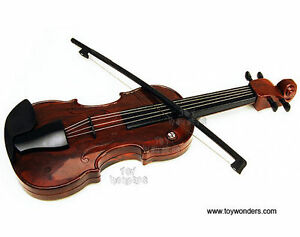 Electronic Toy Violin Plays 25 Melodies Batteries included