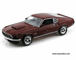FORD MUSTANG BOSS 1969 429 Auto World diecast 1/18
