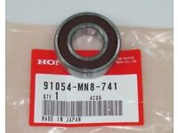 HONDA, BEARING, RADIAL BALL, 600. Part Number 91054-MN8-741