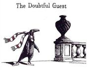 Edward Gorey Signed