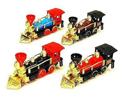Classic Team Loco Train Display 7  Steam Locomotive Die Cast Set Of 4 9935D
