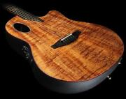 Koa Acoustic Electric Guitar