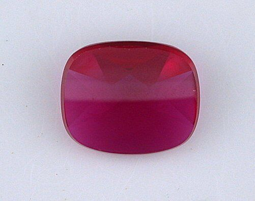 ONE 14x12 Antique  Cushion Buff Top Synthetic Ruby Corundum Gemstone 6000