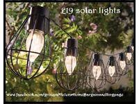 Solar Marine lights. Set of 10