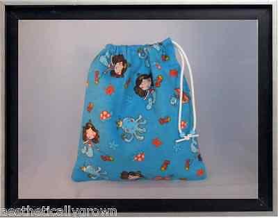 Gymnastics Leotard Grip Bags / Merry Mermaids Gymnasts Birthday Goody Bag