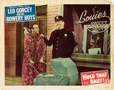 Hold That Baby Original Lobby Card Leo Gorcey And The Bowery Boys