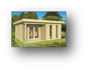 Chalet 16' x 20' camp de chasse abri forestier mini maison cabin