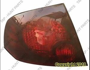 Tail Light Driver Side Se-R Nissan SENTRA 2004-2006