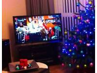 48 inch LED TV with Glass Stand