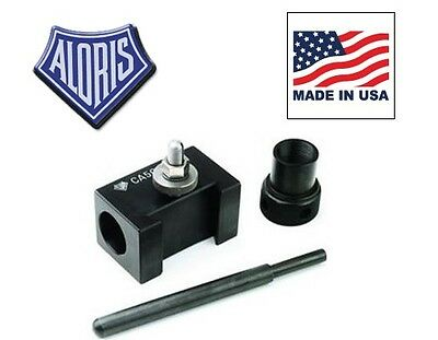 Aloris Bxa-5c Quick Change Collet Drilling Holder For Tool Post Made In Usa