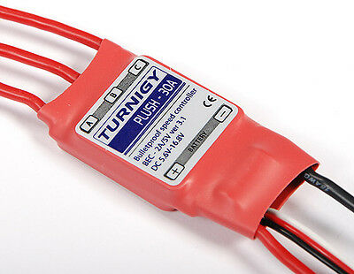 Turnigy Plush 30 amp 30a 30amp ESC BEC 5V plane heli Brushless Speed Controller