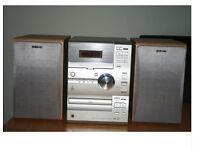 Sony CMT-CP1 Shelf Hifi Tape CD AM/FM Tuner Inc Speakers