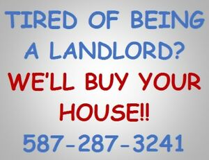 Tired Of Being A Landlord?