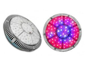 Super UFO Apollo 144W Full Spectrum LED Grow Light IR UV